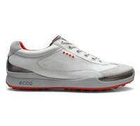 Ecco Mens Biom Hybrid Golf Shoes 2014 (White/Orange)