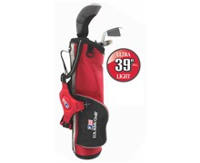 "US Kids UL-39"" Boys 3-Club Golf Package Set"