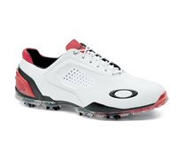Oakley Mens Carbon Pro Golf Shoes 2013 (White/Red)