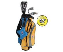 "US Kids UL-42"" Boys 4-Club Golf Package Set"