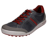 Ecco Golf Mens Limited Edition Street Shoes 2014 (Ombre/Port/Brick)