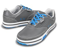 Crocs Mens Drayden 2.0 Golf Shoes (Charcoal/Ocean)