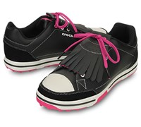 Crocs Ladies Karlene Golf Shoes 2014 (Black/Fuchsia)