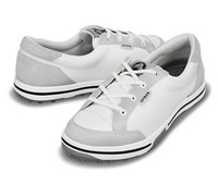 Crocs Ladies Bradyn 2.0 Golf Shoes (White/Silver)