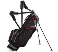 Sun Mountain Front 9 Stand Bag 2015 (Gunmetal/Black/Red)