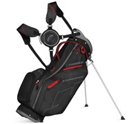 Sun Mountain Three5 Stand Bag 2015 (Black/Red/Charcoal)