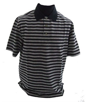 Callaway Golf Mens Tour Inspired Stripe Polo Shirt