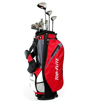 TopFlite Tour Edition 16 Piece Golf Package (Steel/Graphite) 2012