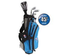 "US Kids UL-45"" Boys 4-Club Golf Package Set"
