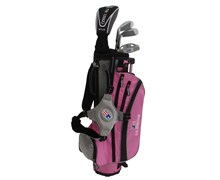 "US Kids UL-45"" Girls Pink 4-Club Golf Package Set"