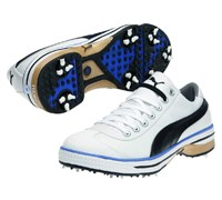 Puma Golf Club 917 Shoes (White/Black/Blue)