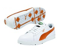 Puma Golf Clyde Spikeless Shoes 2013 (White/Orange)