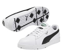Puma Golf Clyde Spikeless Shoes 2013 (White/Black)
