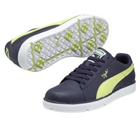 Puma Golf Clyde Spikeless Shoes 2013 (Evening Blue/Lime)