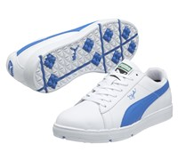 Puma Golf Clyde Spikeless Shoes 2013 (White/Blue)