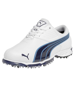 Puma Spark Sport Golf Shoes (White/Blue)