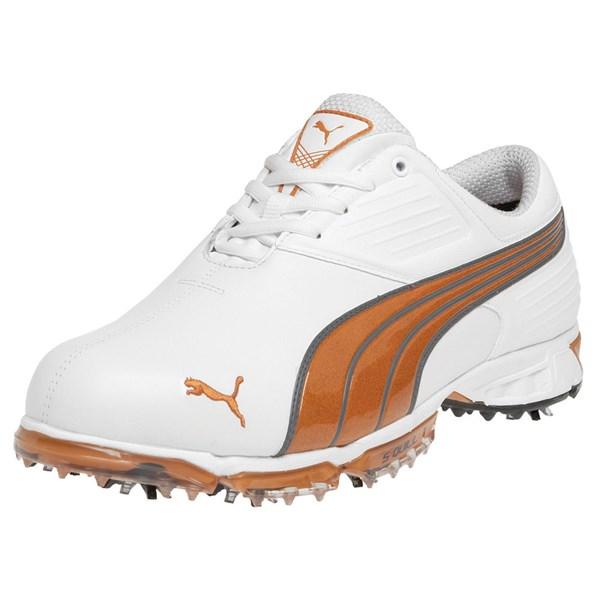 Puma Spark Golf Shoes Orange