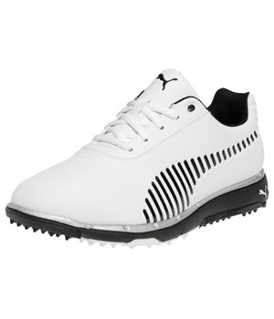 Puma Faas Grip Golf Shoes (White/Black) 2013