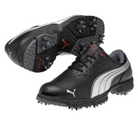 Puma Golf AMP Sport Shoes 2013 (Black/Silver/Red)