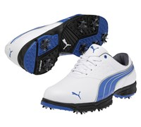 Puma Golf AMP Sport Shoes 2013 (White/Blue)