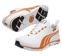 Puma Golf Faas Lite Spikeless Shoes 2013 (White/Orange)