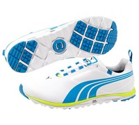 Puma Golf Faas Lite Spikeless Shoes 2014 (White/Blue)