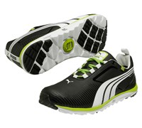 Puma Golf Faas Lite Spikeless Shoes 2014 (Black/White/Green)
