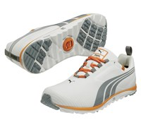 Puma Golf Faas Lite Spikeless Shoes 2014 (White/Orange)