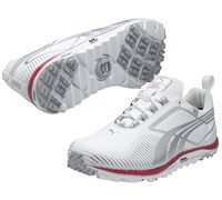 Puma Golf Ladies Faas Lite Shoes 2013 (White/Silver/Pink)