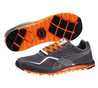 Puma Golf Faas Lite Mesh Spikeless Shoes 2014 (Charcoal/Orange)