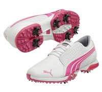 Puma Golf Ladies BioFusion Golf Shoes 2014 (White/Pink)