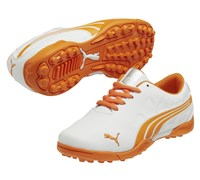 Puma Golf Junior BioFusion Spikeless Shoes 2014 (White/Orange)