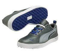 Puma Golf Monolite Spikeless Golf Shoes 2014 (Grey/Blue)