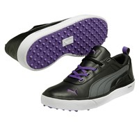 Puma Golf Monolite Spikeless Golf Shoes 2014 (Black/Purple)