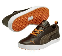 Puma Golf Monolite Spikeless Golf Shoes 2014 (Brown/Orange)