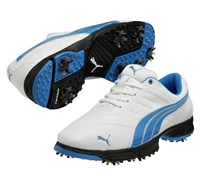 Puma Golf Fusion Sport Shoes 2014 (White/Blue)