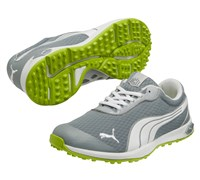 Puma Golf BioFusion Spikeless Mesh Shoes 2014 (Grey/White/Green)
