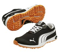 Puma Golf BioFusion Spikeless Mesh Shoes 2014 (Black/White/Orange)