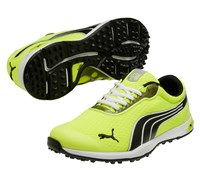 Puma Golf BioFusion Spikeless Mesh Shoes 2014 (Yellow/Black/White)