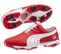 Puma Golf Neo Lux Limited Edition Arsenal Golf Shoes 2014 (Red/White)