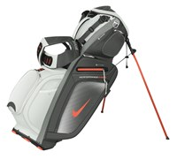 Nike Performance Hybrid Carry Stand Bag 2014 (White/Orange)