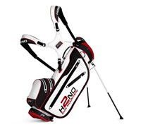 Sun Mountain H2NO Lite Stand Bag 2014 (White/Red/Black)