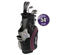 "US Kids UL-54"" Boys 5-Club Golf Package Set"