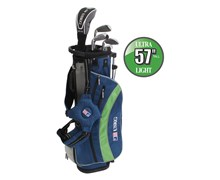 "US Kids UL-57"" Boys 5-Club Golf Package Set"