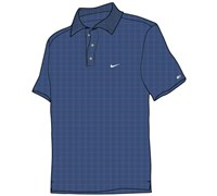 Nike Mens TW Dri-Fit Drop Needle Stripe Polo Shirt