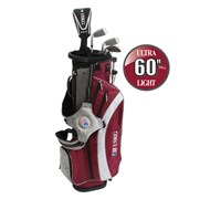 US Kids UL-60 Inch Boys 5-Club Golf Package Set