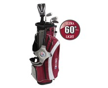 "US Kids UL-60"" Boys 5-Club Golf Package Set"