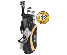 "US Kids UL-63"" Boys 5-Club Golf Package Set"