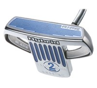 Rife Two Bar Hybrid Blade Putter  Heel Shaft