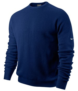 Nike Mens Seamless Lambswool Crew Sweater (Swoosh Left Sleeve) 2012